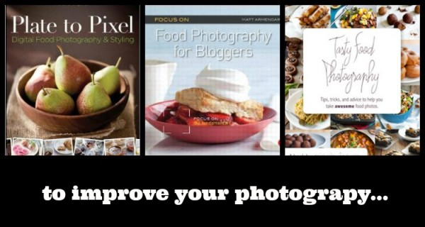 Books to Improve Your Food Photography - Find out more on RachelCooks.com