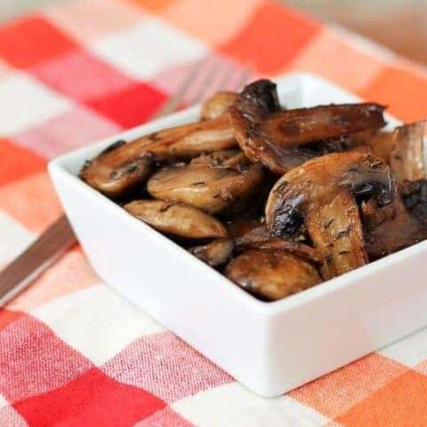 Marsala Roasted Mushrooms