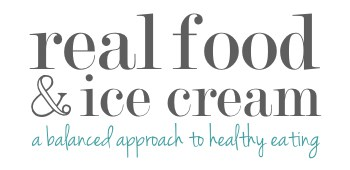 Real Food and Ice Cream