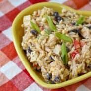 这奶油西南orzo沙拉辣,奶油,香脆的完美融合。该大胆的口味使这种沙拉不仅在聚会一crowdpleaser,也有很大的午餐!得到RachelCooks.com配徳赢vwin pk10方!
