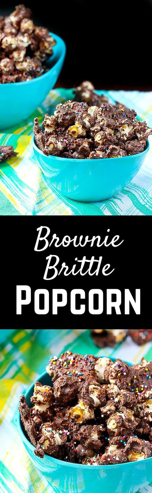 Brownie Brittle popcorn answers the question,