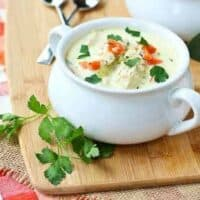 Creamy Turkey Soup with Quinoa
