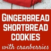These melt-in-your-mouth gingerbread shortbread cookies are simple to make and will be a hit at any holiday party. Get the recipe on RachelCooks.com!