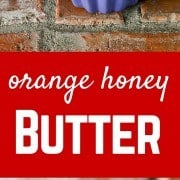 This orange honey butter is perfect on cornbread alongside chili but also makes a great edible gift! Get the easy recipe on RachelCooks.com!