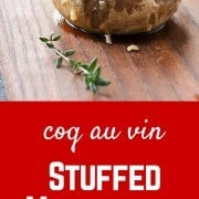 This isn't your traditional stuffed mushrooms recipe - they put all the great flavors of coq au vin into one tasty bite. It's the perfect appetizer! Get the recipe on RachelCooks.com!