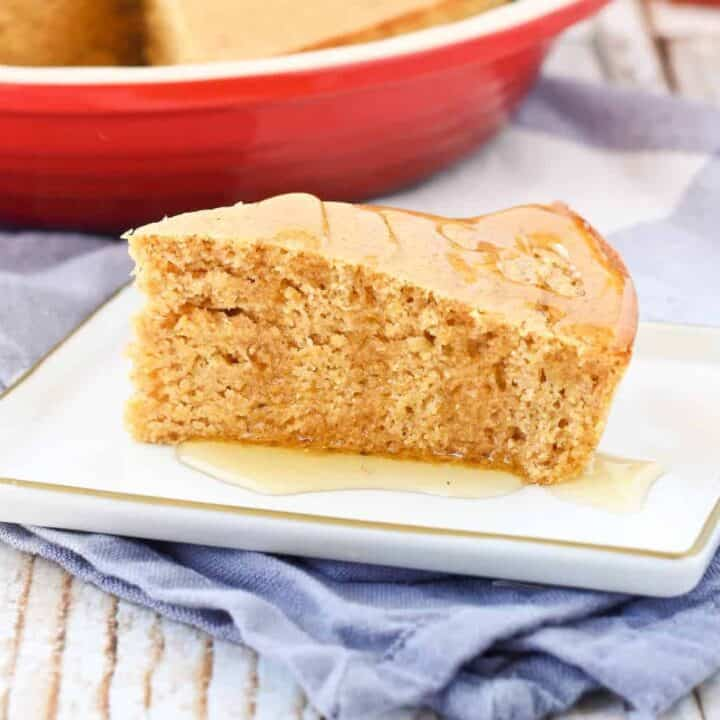 Healthy Cornbread Recipe (whole wheat)