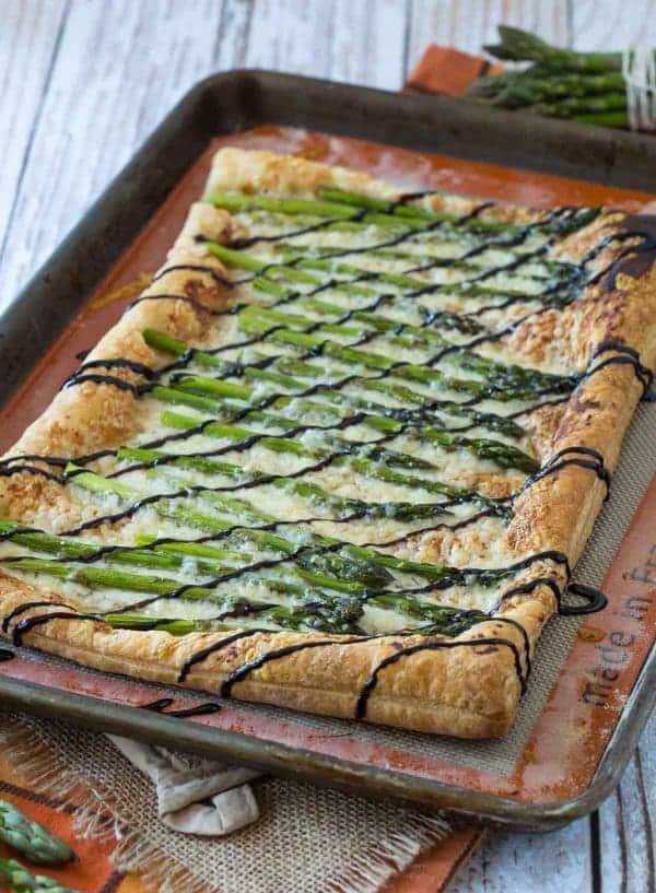 Asparagus Gruyère Tart