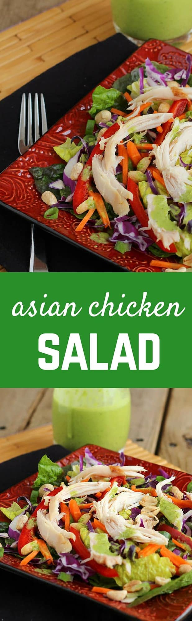 Quick and easy meals don't have to come out of a box. This delicious Asian Chicken Salad can be on the table in minutes. Get the recipe on RachelCooks.com!