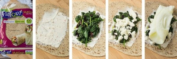 Make a copycat Starbucks Egg White Wrap with Spinach and Feta. So easy and you can't beat the flavor! Filling and satisfying, it is the perfect breakfast. Get the recipe on RachelCooks.com!
