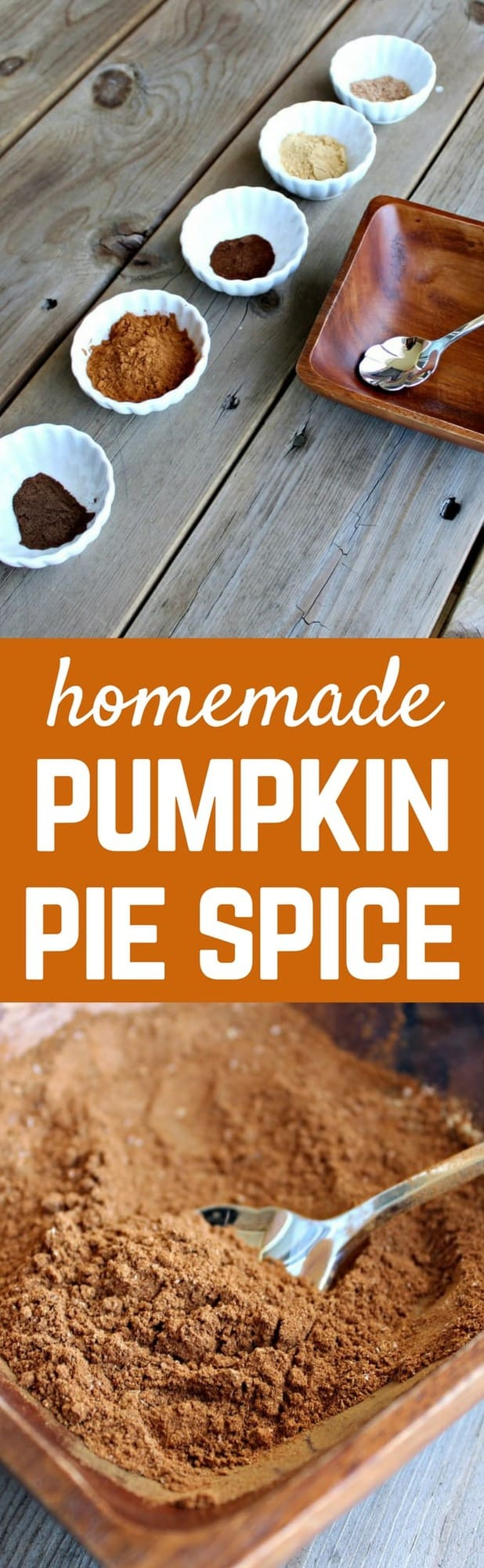 Once you try homemade pumpkin pie spice, you'll likely never go back to store-bought! It's easy to make with spices you already have in your cupboard. Get the recipe on RachelCooks.com!