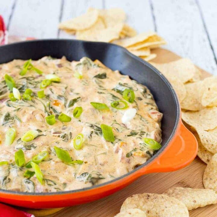 Mexican Spinach Dip Recipe