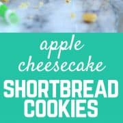 Apple Cheesecake Shortbread Cookies | RachelCooks.com