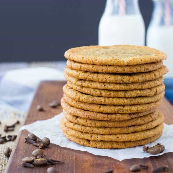 Coffee Cookies with Clove