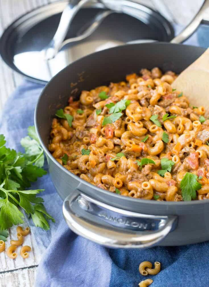 Homemade Hamburger Helper - Whole Wheat!