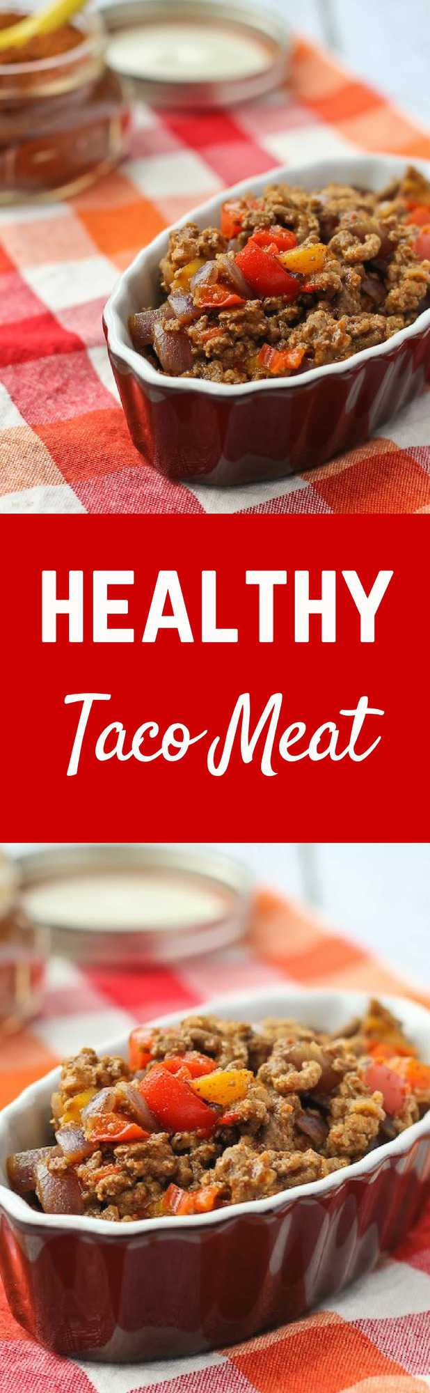 This healthytaco meat is something I could make with my eyes closed. Some vegetable additions make this budget AND waist-friendly! Get the recipe on RachelCooks.com!