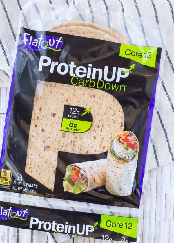 Flatout ProteinUP Carb Down Flatbread Photo