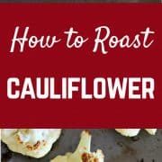 How to Roast Cauliflower | RachelCooks.com