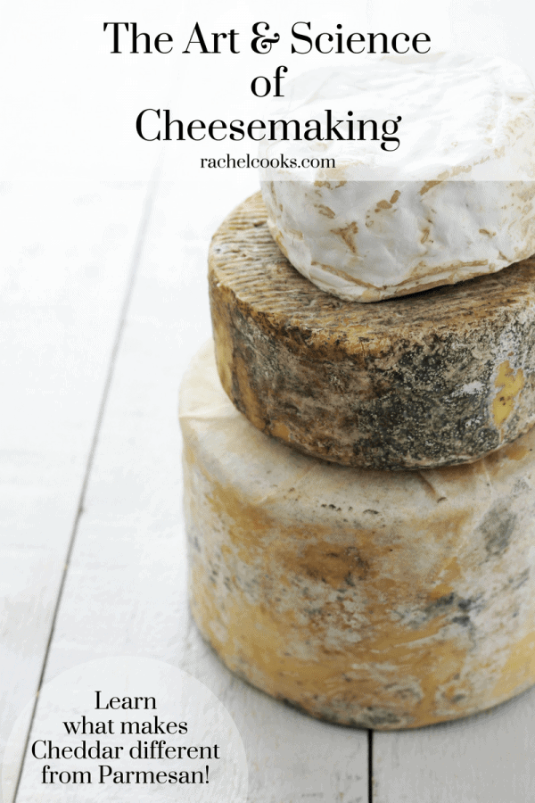Learn how cheese is made on RachelCooks.com. How do the same four ingredients product countless varieties of cheese?