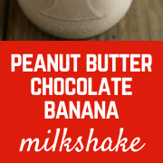 This Peanut Butter Chocolate Banana Milkshake is cool, refreshing and perfect for a hot summer day. And what better flavor combination is there?