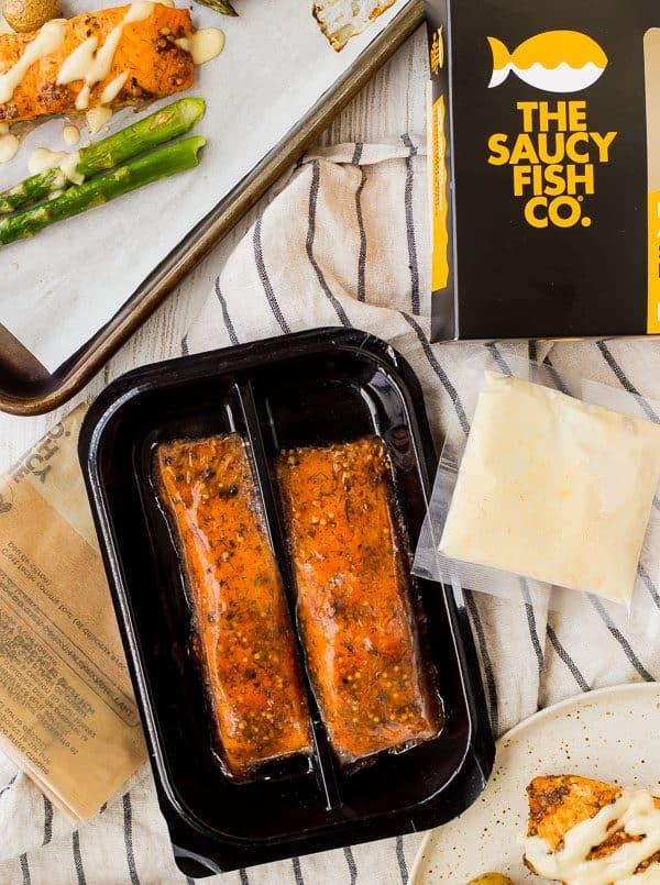 Saucy Fish Co. Package Contents
