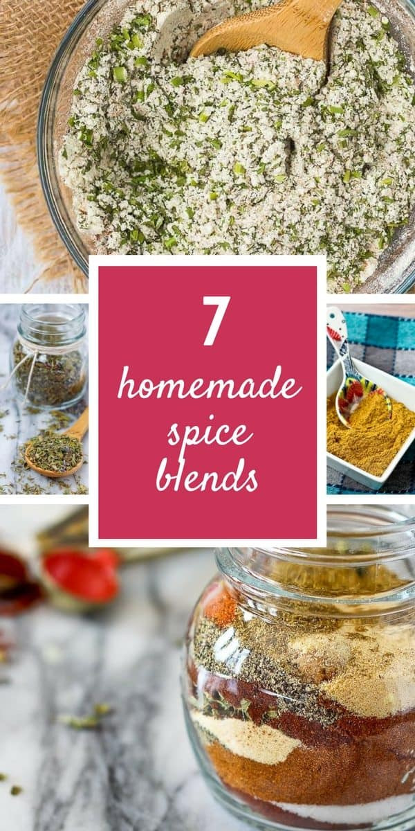 Homemade Spice Blends to help you ditch the packets and the artificial junk! Get the recipes on RachelCooks.com!