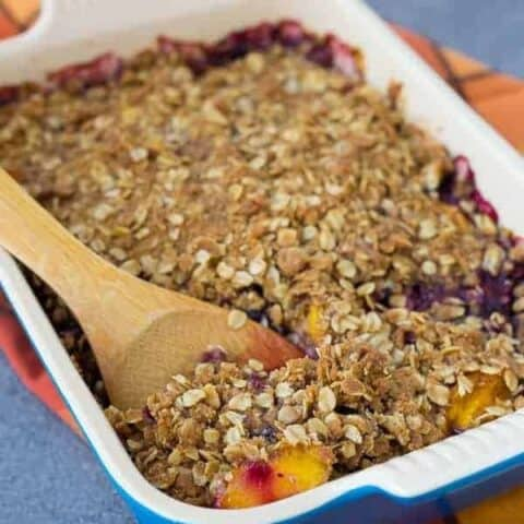 Peach Blueberry Crisp Recipe