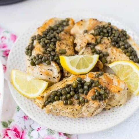 Healthy Chicken Piccata in the Instant Pot (Whole 30 Compliant)