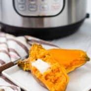 即时锅甘薯可能是你最喜欢的新方式,使红薯。他们在大约30分钟准备(包括压力释vwin徳赢彩票投注放!)就出来柔滑每次。得到RachelCooks.com的徳赢vwin pk10方法!