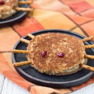 Spider Halloween Grilled Cheese Sandwich