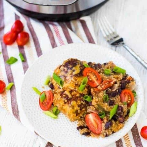 Southwestern Instant Pot Chicken and Quinoa