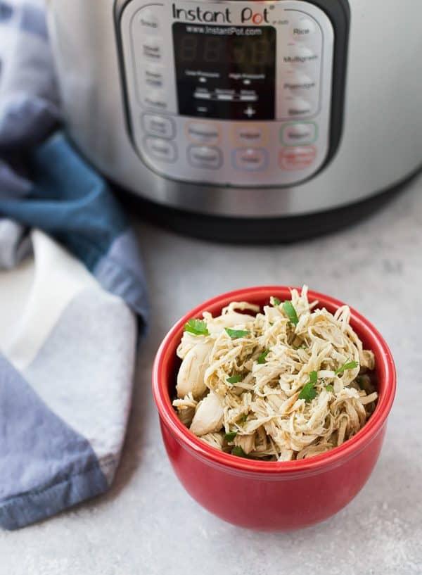 instant pot shredded chicken photo