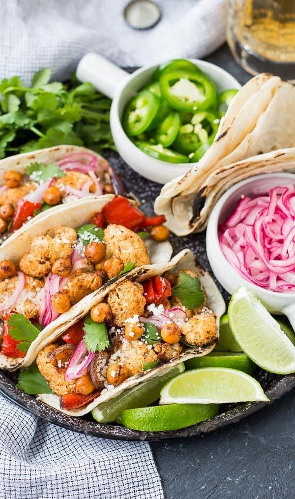 cauliflower tacos photo