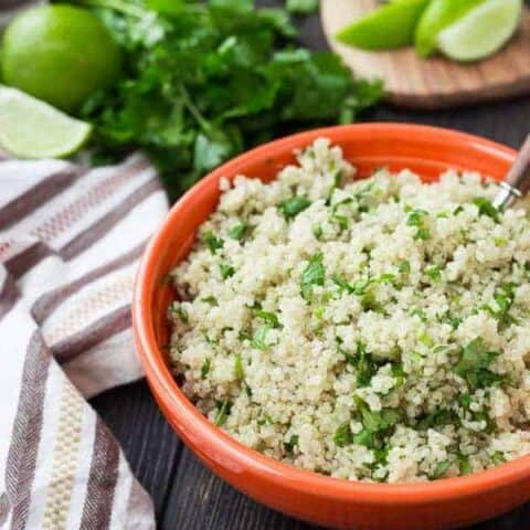 Instant Pot Quinoa | Plain and Cilantro Lime Recipes