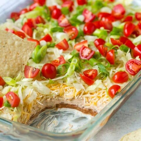 7 Layer Dip Recipe - THE BEST!