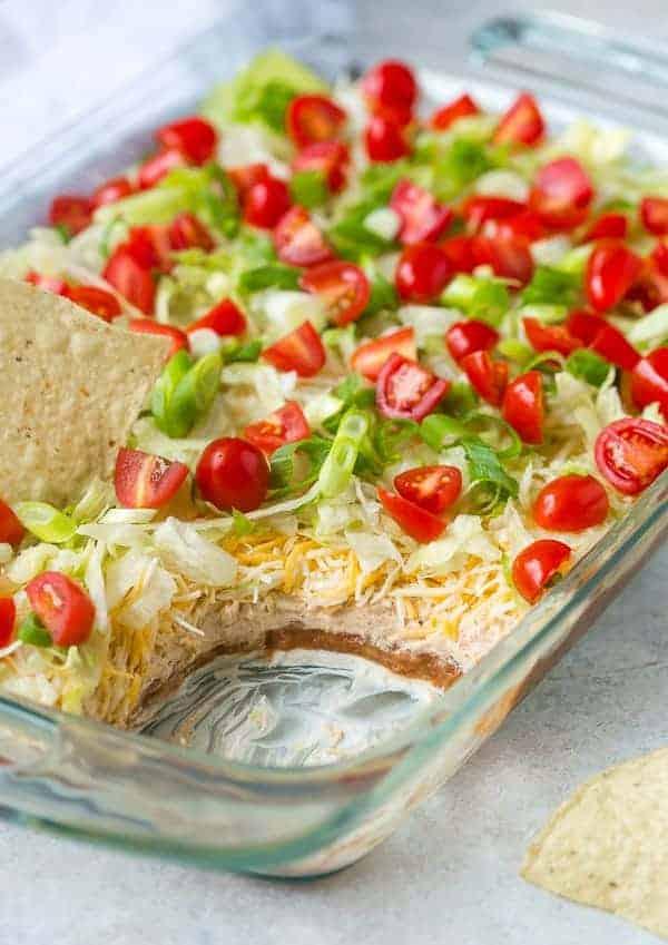 7 Layer Dip Recipe - THE BEST!