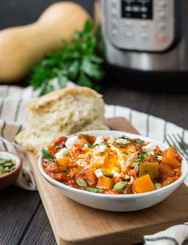 Fall Instant Pot Shakshuka