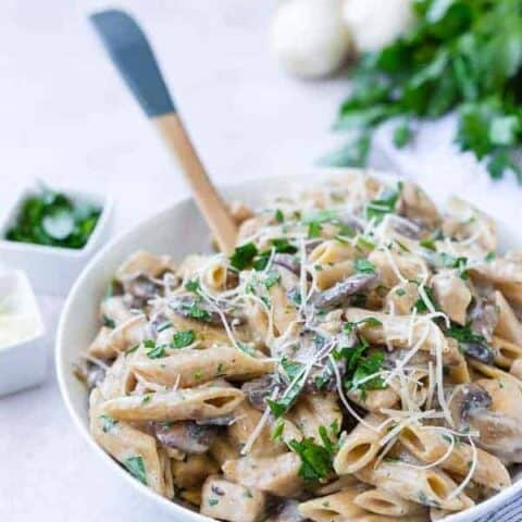 Chicken Marsala Pasta - One Pan!