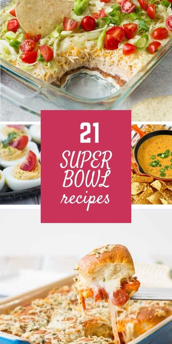 Super Bowl Recipes 21 Of The Best Ideas For Game Day Rachel