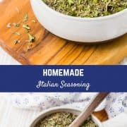 This Italian Seasoning recipe is super versatile and so easy to make. Best of all, you know exactly what is going into it!