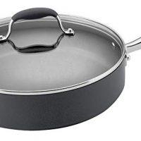 Nonstick 5-Quart Covered Saute