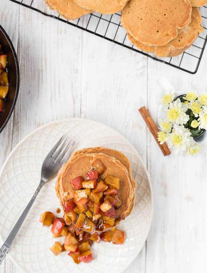 These apple spice quinoa pancakes are a healthy and delicious way to start your day. Full of protein and flavor, they will quickly become a favorite.