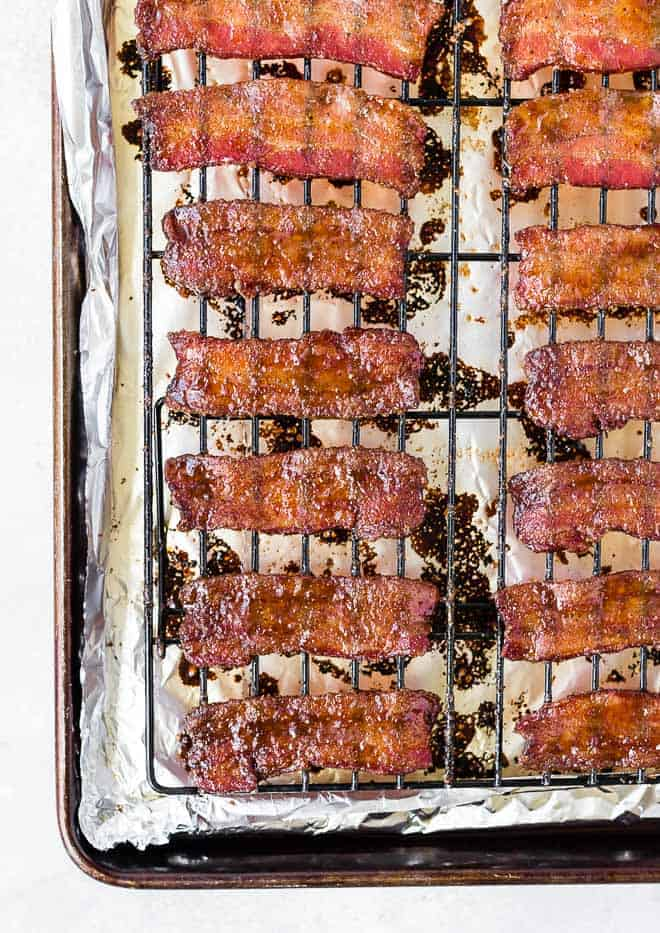 Image of how to make candied bacon.