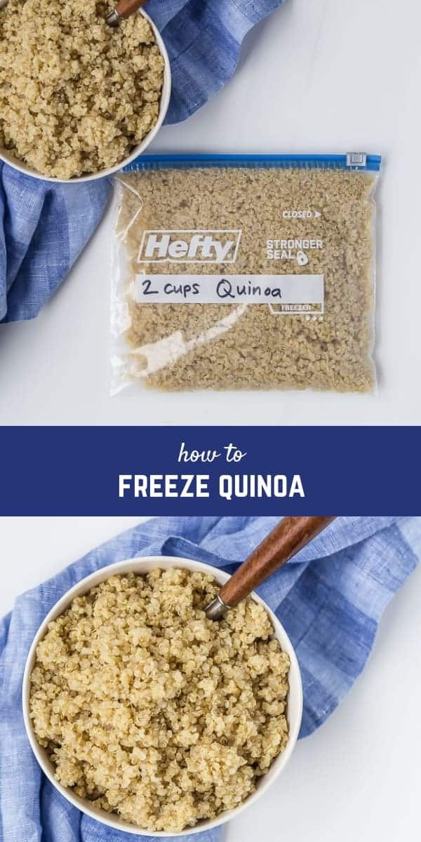 Can you freeze cooked quinoa? Short answer: YES. Read on to find out more about how and why you should freeze cooked quinoa.