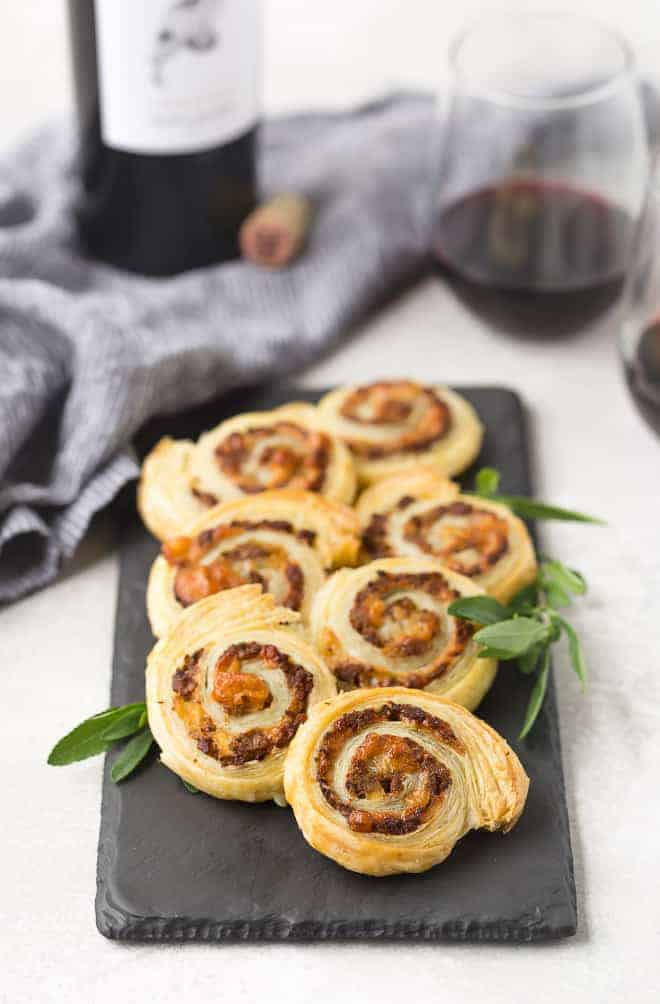 These beautiful sausage pinwheels are the perfect fall appetizer with flavors of apple, sage, and Gruyère. They're irresistible!