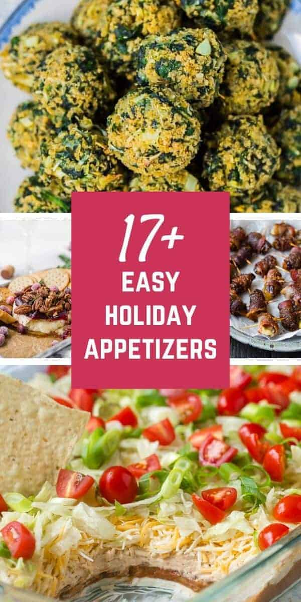 Deck the halls with these deliciously easy and festive holiday appetizers! Shhh...you don't have to say how quickly you put them together!