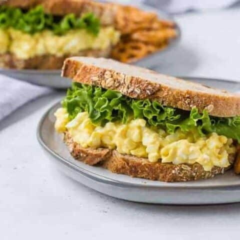 Egg Salad Recipe - with Healthy Option