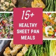 Turn on your oven, get out your sheet pan, and create satisfying and flavorful sheet pan meals. Your entire dinner roasted in one pan makes cleanup a breeze!