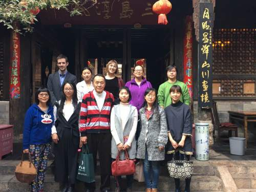 Yunnan Health And Development Research Association Group Photo in Kunming