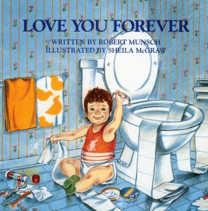 Cover of Love You Forever by Robert Munsch