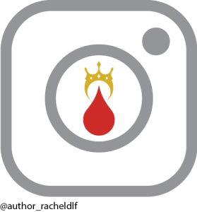 Instagram logo with the Exalted Bloodlines logo